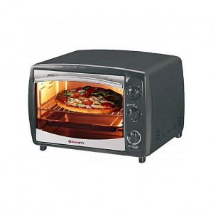 Homeglory HG-TO18L 1380W Electric Oven 18Ltrs - (Black)