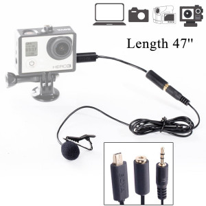 Boya BY-LM20 Lapel Clip-on Omni-Directional Condenser Lavalier Microphone