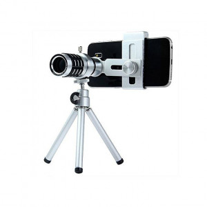 Fancy 12X Universal Zoom Telephoto Lens For Mobile Phone