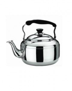 Bright Stainless Steel Electric Kettle - 6 Liters