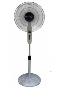 Electromax 830DLX Stand Fan with Timer-5 Blades