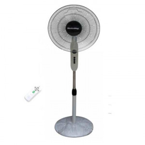 Electromax 820N Remote Controlled Stand Fan with Timer-White