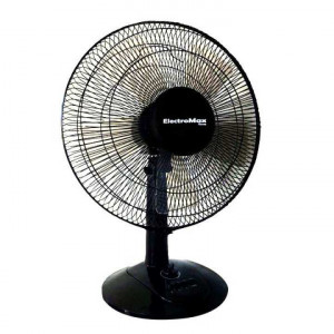 Electromax 845REG Table Fan With 5 Blades- Black