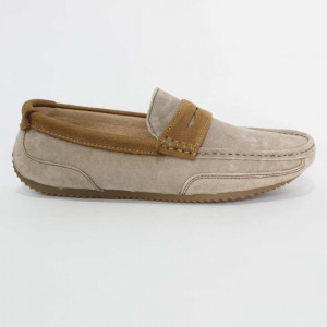 8900 Casual Suede Loafer For Men- Khaki