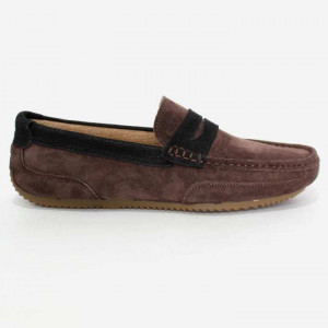 Shikhar Brown Casual Suede Loafer for Men - 8900