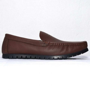 Shikhar Brown Casual Leather Shoes for Men - 1722