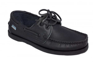 Leather Dockside Shoes For Men