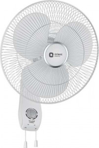 Orient Electric Snowfall 16WB01 16-Inch Wall Fan (Snow White)