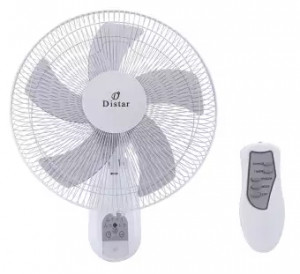 """Distar 16"""" Wall Fan with Remote"""