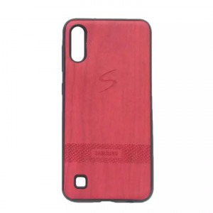 Red Mobile Cover For Samsung M10