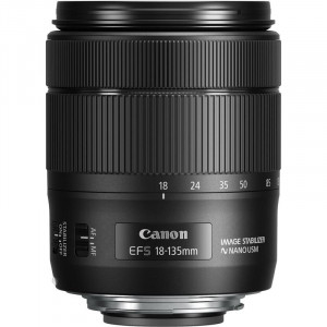 Canon EF-S 18 - 135 mm f/3.5-5.6 IS Lens