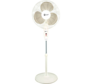 Orient 400 mm Stand 33 Standing Fan White