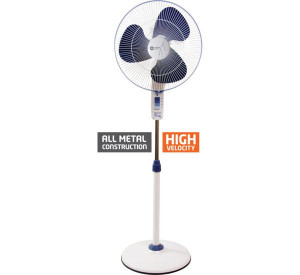 Orient 400 mm Stand 34 Standing Fan White