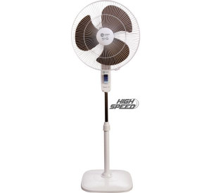 Orient 400 mm Stand 37 Standing Fan White