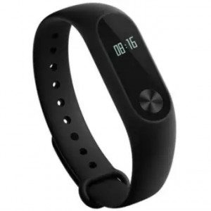 Original Band 2 Heart Rate Monitor Smart Wristband with OLED Display Black