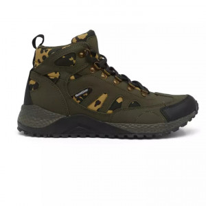 Goldstar Olive Camoflauge Sports Sneakers For Men - G10 G401