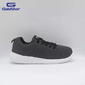 Goldstar Black Casual Shoes For Men - GSG 106