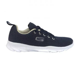 Goldstar Navy / Grey Sports Shoes For Women - G10 L602