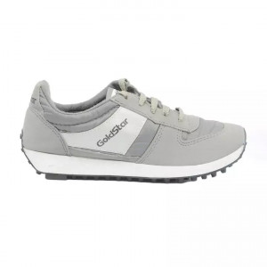 Goldstar Sliver / Grey Sports Shoes For Men - 602