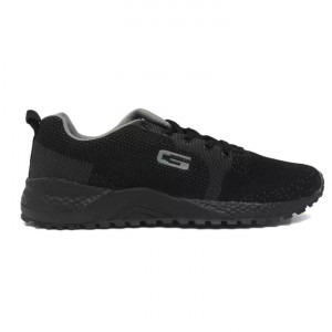 Goldstar Black / Grey Sports Shoes For Men - G10 G405