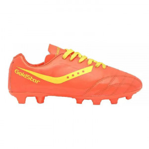 Goldstar Orange / Yellow Football Shoes For Boys- G10 GFS02