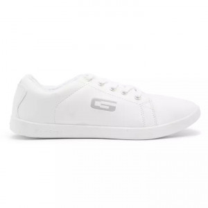 Goldstar Full White Sports Shoes For Men - BNT IV