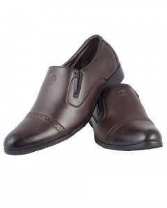 Shikhar Men's Brown Formal Shoes