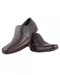 Shikhar Men's Coffee Brown Shoes