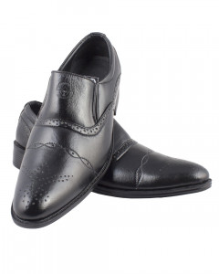 Shikhar Men's Black Party Shoes
