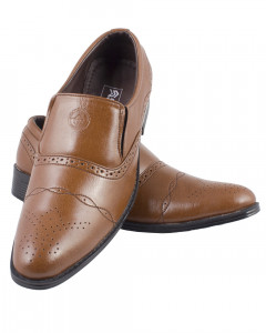 Shikhar Men's Brown Party Shoes