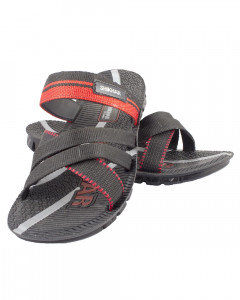 Shikhar Men's Black Sandals