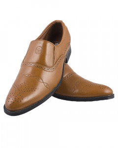 Shikhar Men's Tan Party Shoes