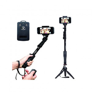 Aafno Pasal Combo of Yunteng 1288 Selfie Stick with Monopod + YT-228 Mini Tripod